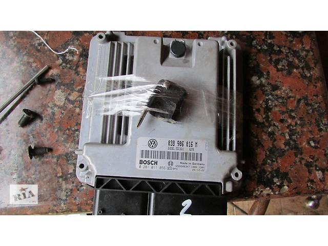 купить бу 038906016A 038906016N 038906016M EDC16U1 Блок управления  двигателем для легкового авто Volkswagen T5 (Transporter) 2005 в Хусте