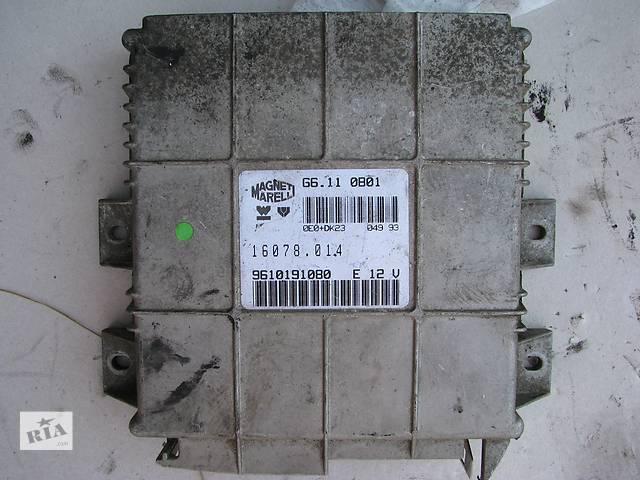 купить бу Б/у блок управления двигателем Citroen AX/Peugeot 106/205 1.1 1992-1993 в Броварах