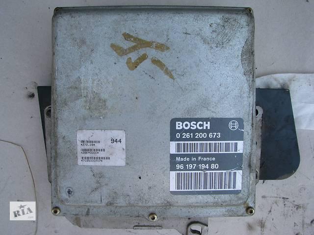 бу Б/у блок управления двигателем Citroen Xantia/Peugeot 405 1.8 1993-1998 в Броварах