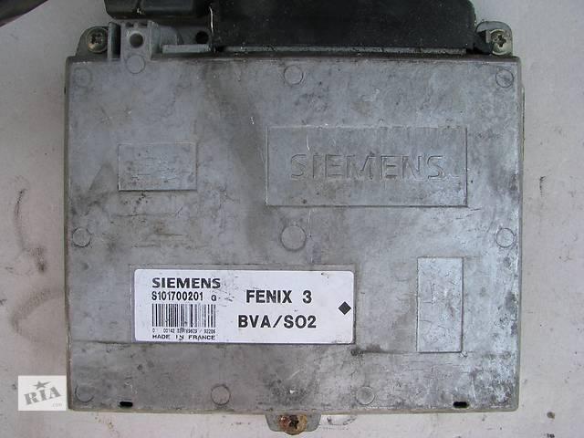 бу Б/у блок управления двигателем Citroen XM/Peugeot 605 3.0 V6 ZPJ/SFZ 1990-1998, SIEMENS S101700201G в Броварах