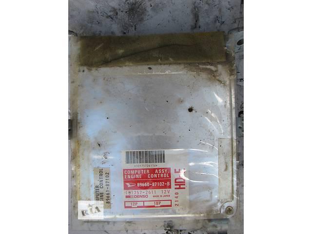 бу Б/у блок управления двигателем Daihatsu Applause A101 1.6 16V 1989-1994 в Броварах