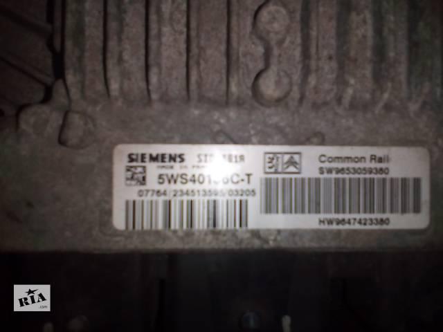 Б/у блок управления двигателем для легкового авто Citroen Berlingo- объявление о продаже  в Сумах