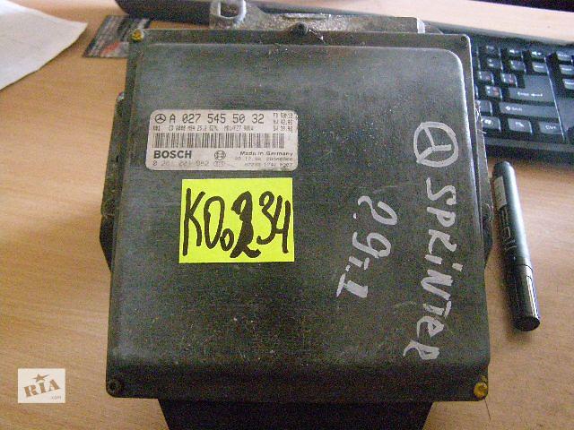 продам Б/у блок управления двигателем для легкового авто Mercedes Sprinter 2.9td  0281001982 бу в Таврийске