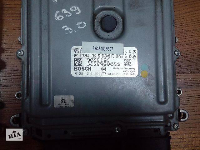Б/у блок управления двигателем для легкового авто Mercedes Vito 0281013669 A6421509677- объявление о продаже  в Ровно