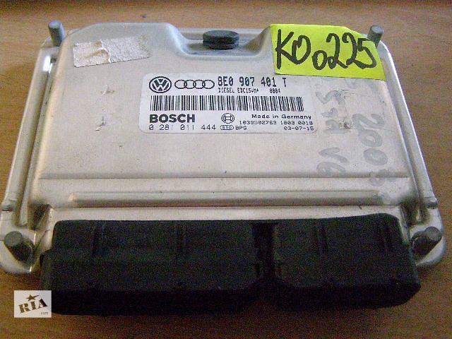 купить бу Б/у блок управления двигателем для легкового авто Volkswagen Passat 2.5TD V6 8E0907401T 0281011444 в Таврийске