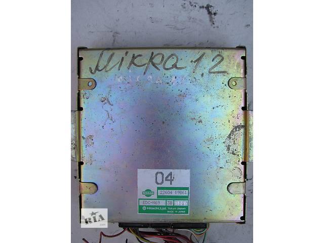 купить бу Б/у блок управления двигателем Nissan Micra K10 1.2 1989-1992 в Броварах
