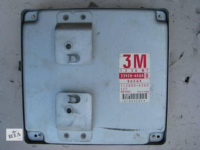 бу Б/у блок управления двигателем Suzuki Baleno 1.3i 16V 1998-1999 в Броварах