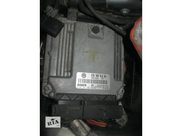 бу Б/у блок управления двигателем Volkswagen Touareg 5.0 tdi v10 в Ровно
