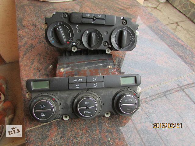 купить бу Б/у 1K0907044CT блок управления печкой/климатконтролем для легкового авто Volkswagen Caddy 2007 в Хусте
