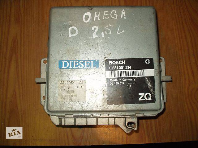 продам Б.у Блок управления двигателем Opel Omega В 2.0 90459811 BOSCH 0281001214 2.5 D рабочий, гарантия, доставка, бу в Тернополе