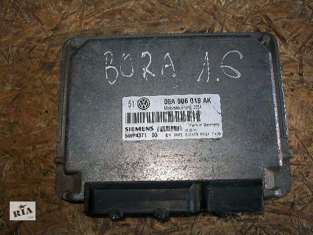 Б/у Блок управления двигателем Vw Caddy , кат № 038906013AN - 1,9 SDI /2002 г.в , Bosch / Made in Germani , гарантия- объявление о продаже  в Тернополе