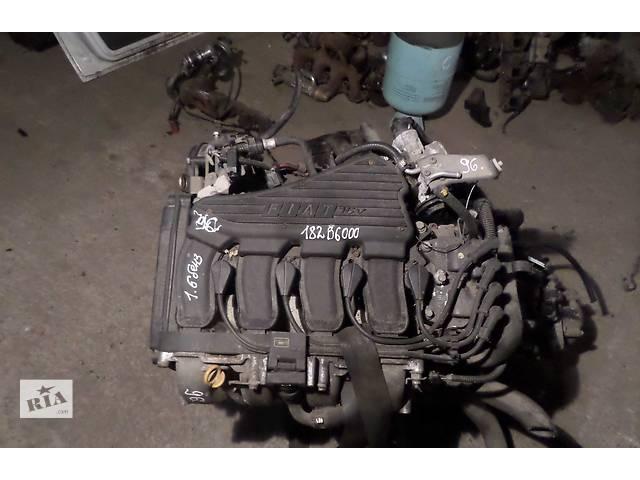 купить бу Б/у Двигатель Fiat Doblo 1.6 16v бензин № 182B6.000 2000-2009 в Стрые