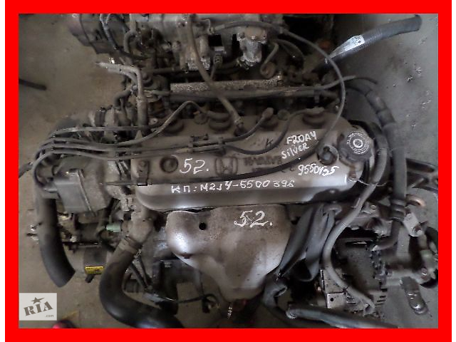 продам Б/у Двигатель Легковой Honda Prelude 2.0 бензин № F20A4 бу в Стрые