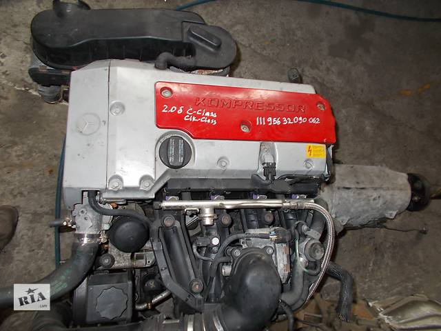 продам Б/у Двигатель Mercedes CLK-Class 2.0 бензин № 111.956 бу в Стрые