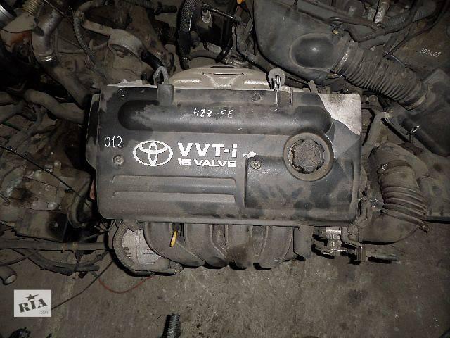 бу Б/у Двигатель Toyota Auris 1,4 бензин 16V № 4ZZ-FE VVT-i 2000-2007 в Стрые