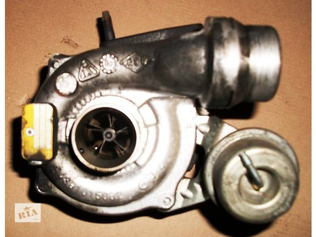 бу Б/у Детали двигуна Турбіна Турбина Renault Kangoo Кенго 1,5 DCI К9К 78кВт 2008-2012 в Луцке