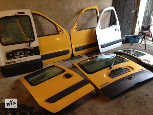 купить бу Б/у двері передня для легкового авто Renault Kangoo 1998-2015гв в Одесі