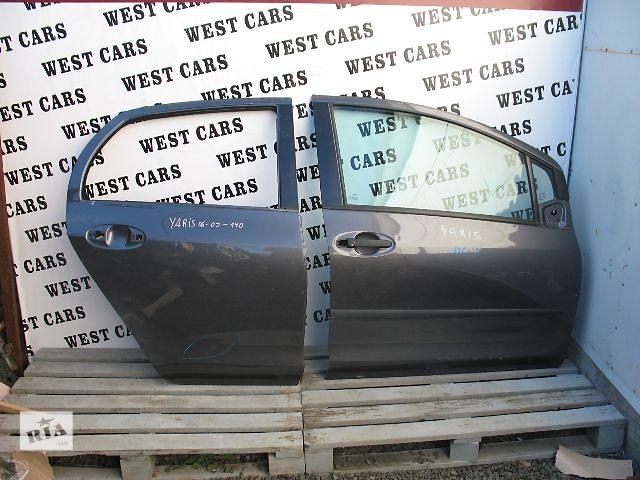 Б/у дверь задняя для легкового авто Toyota Yaris 2007- объявление о продаже  в Луцке