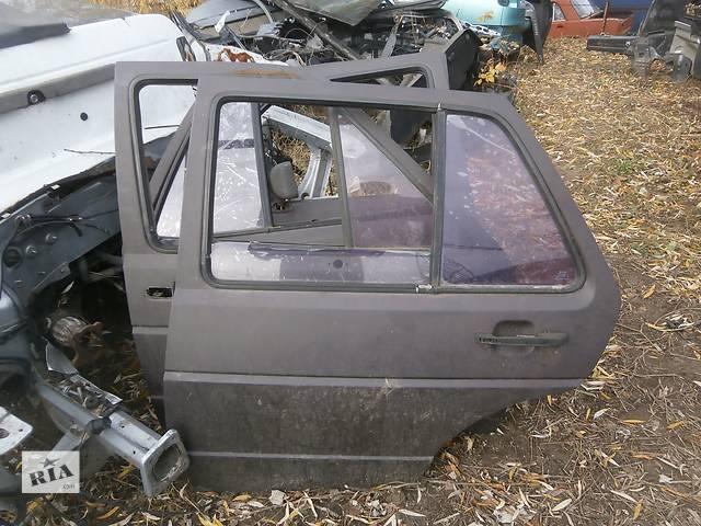 продам Б/у задні двері для легкового автомобіля Хетчбека Volkswagen Golf II бу в Львове