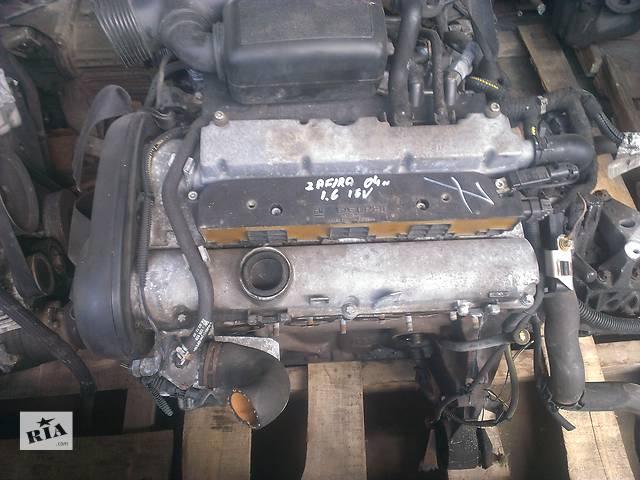 бу Б/у Двигатель 1,8л 16 клапанный Опель Зафира Opel Zafira 1,6 16v 2003 в Рожище