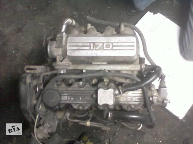 купить бу Б/у двигатель для легкового авто Opel Astra F1.7D в Луцке