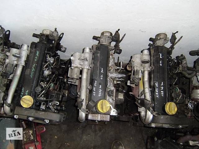 продам Б/у двигун для легкового авто Renault Kangoo 1.2 i,1.4 i,1.5 dci,1.9 d,1.9 tdi бу в Одесі