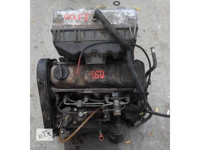 продам Б/у двигатель для легкового авто Volkswagen Golf II 1,6Д-1,6ТД бу в Луцке