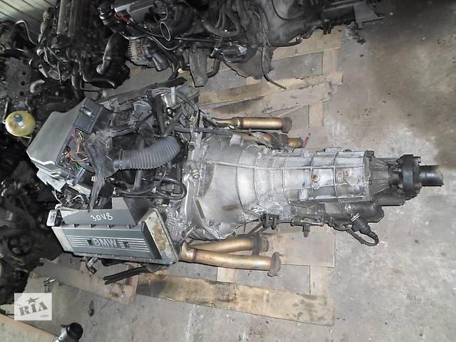 купить бу Б/у Двигатель М60 3,0л на БМВ Е32, Е34, Е38 M60B30 BMW 3.0 218л.с.160 кВт 1996г. в Рожище