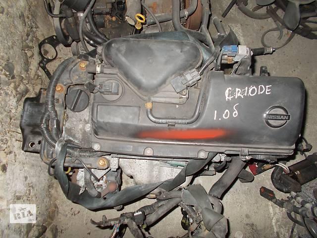купить бу Б/у Двигатель Nissan Micra 1.0 бензин 16V № CR10DE в Стрые