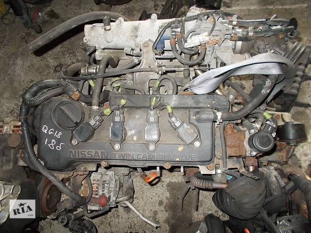 Б/у Двигатель Nissan Wingroad 1.8 бензин 16V № QG18DE 1999-2005- объявление о продаже  в Стрые