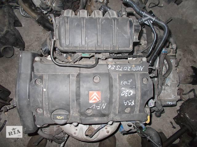 купить бу Б/у Двигатель Peugeot 1007 1,6 бензин 16V № PSA NFU 2005-2011 в Стрые