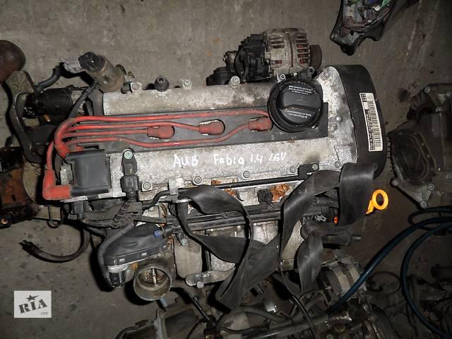 купить бу Б/у Двигатель Volkswagen Polo 1,4 бензин 16V № AUB в Стрые
