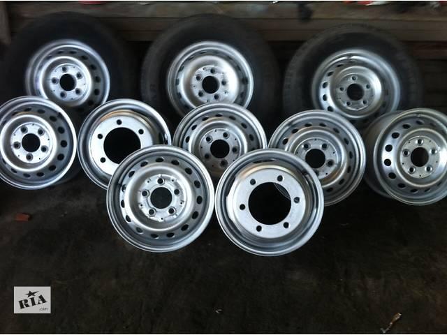 продам Б/у диск колесный (d-15/16) для грузовика Mercedes Sprinter бу в Ровно