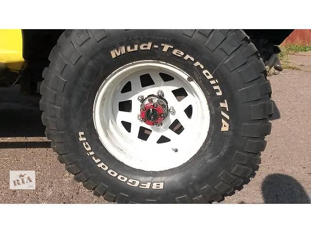 продам Б/у диск с шиной 15x6.5 Е-0, BFGoodrich 33/10.5 для Daihatsu Rocky бу в Чернигове