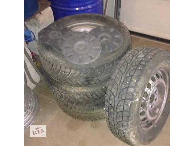 бу Б/у диск с шиной для легкового авто Mercedes Vito 215\65\16 в Луцке