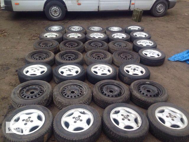 продам Б/у диск с шиной для легкового авто Renault Kangoo 4х100 ЕТ36 бу в Одессе