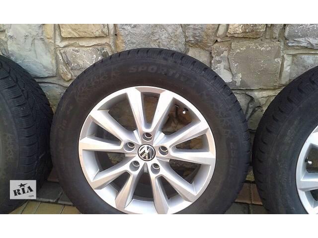 купить бу Б/у диск с шиной для легкового авто Volkswagen Touareg в Ивано-Франковске