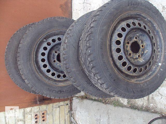 продам Б/у диск с шиной для легкового авто бу в Львове