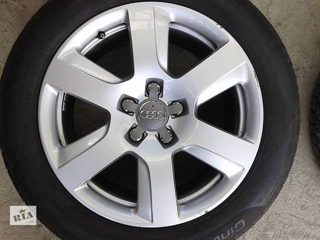 продам Б/у диски 17 5/112 ЕТ39  Audi A4 оригинал бу в Киеве