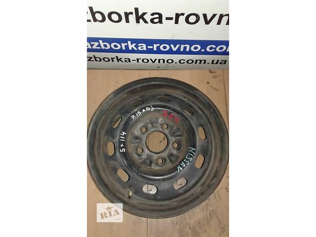 продам Б/у диски Nissan R15 5x114 диски колесные бу в Ровно