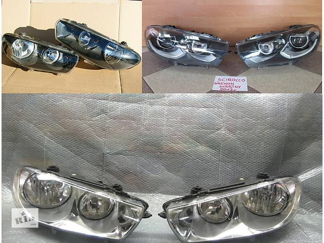 купить бу Б/у фара для легкового авто Volkswagen Scirocco в Львове