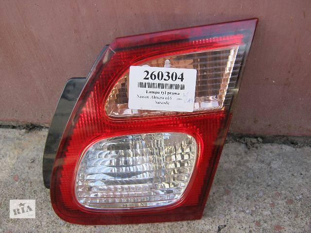 купить бу Б/у фонарь задний правый для седана Nissan Almera 2006 в Шепетовке