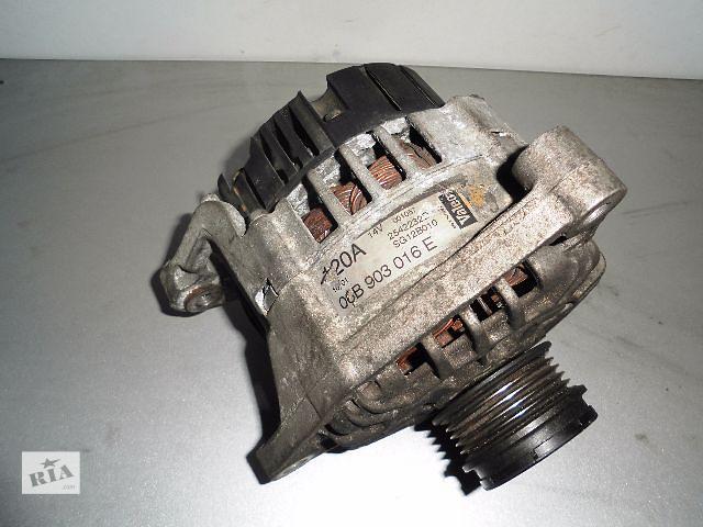 купить бу Б/у генератор/щетки для легкового авто Audi A4 1.6,1.8,1.8T 1994-2001 120A с обгоной муфтой. в Буче (Киевской обл.)