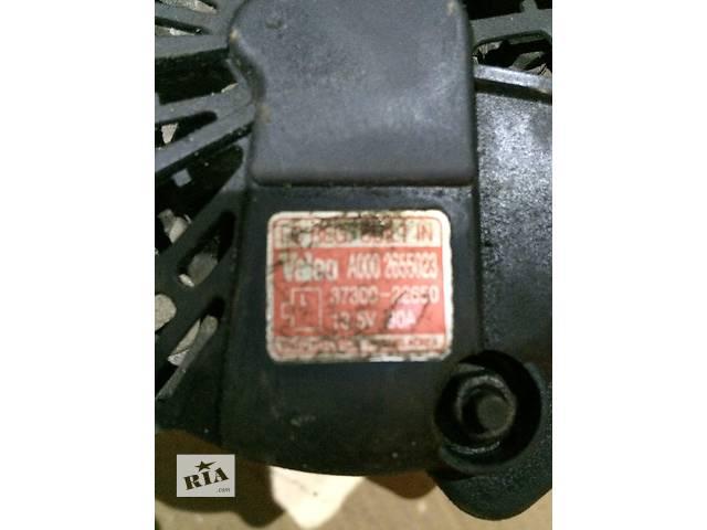 купить бу Б/у генератор/щетки для легкового авто Hyundai Accent в Дубраве (Житомирской обл.)