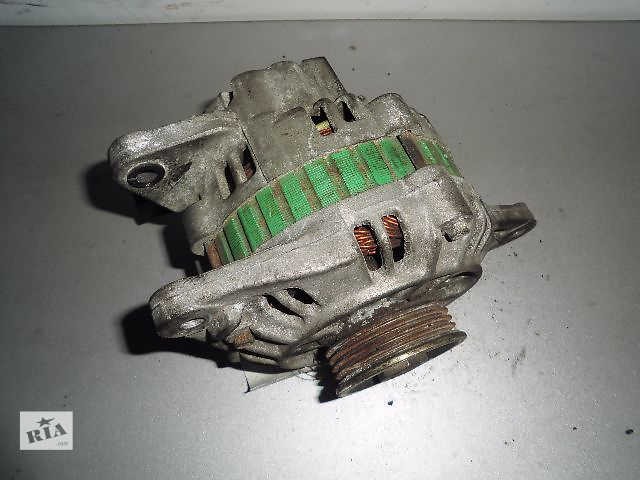 Б/у генератор/щетки для легкового авто Hyundai Elantra 1.5,1.6,1.8,2.0 1995-2000 75A.- объявление о продаже  в Буче (Киевской обл.)