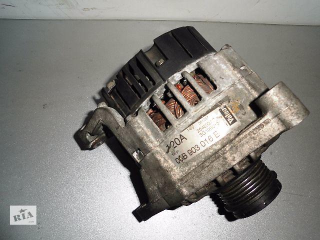 купить бу Б/у генератор/щетки для легкового авто Volkswagen Tiguan 2.0TDi,TFSi 2007-2009 120A с обгонной муфтой. в Буче (Киевской обл.)
