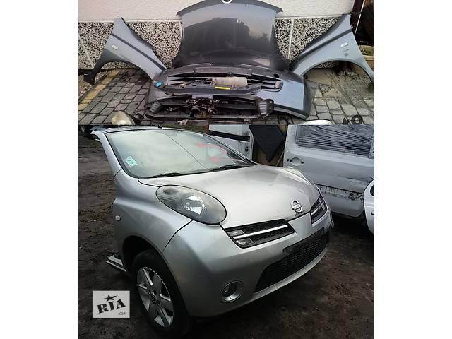 бу Б/у капот для легкового авто Nissan Micra k12 в Львове