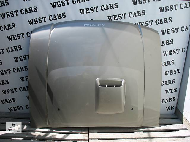 купить бу Б/у капот для легкового авто Nissan Patrol GR в Луцке