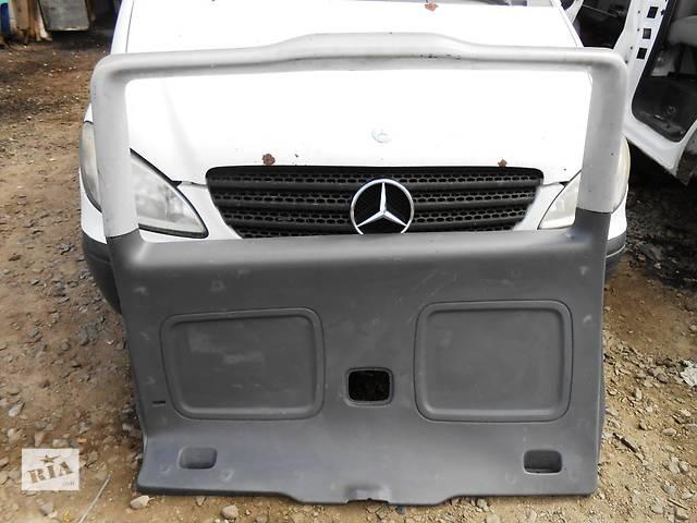 продам Б/у карта крышки багажника для легкового авто Mercedes Vito (Viano) Мерседес Вито (Виано) V639 (109, 111, 115, 120) бу в Ровно