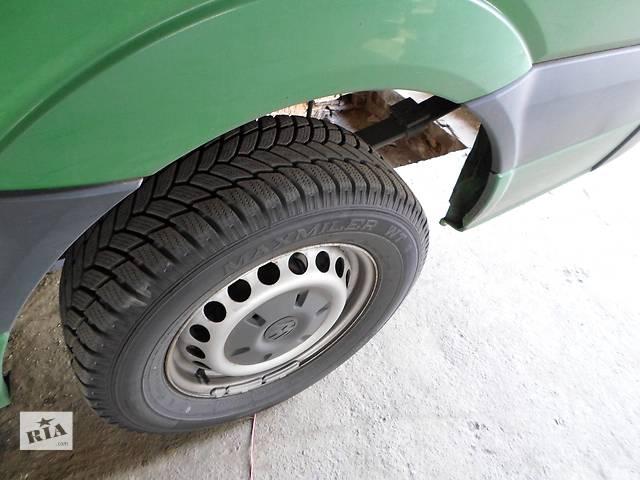 продам Б/у Колеса и шины Диск R16 Резина Автобусы Volkswagen Crafter Фольксваген Крафтер 2.5 TDI 2006-2010 бу в Луцке